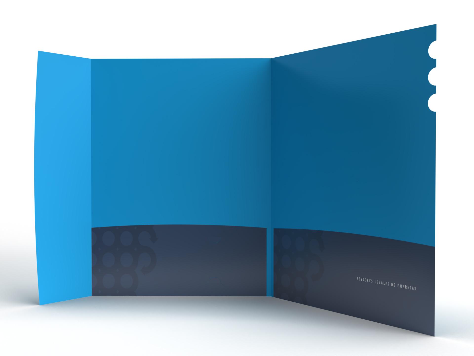 Diseño de Carpeta Identidad Visual y Logotipo para la marca Punto Franco Consulting