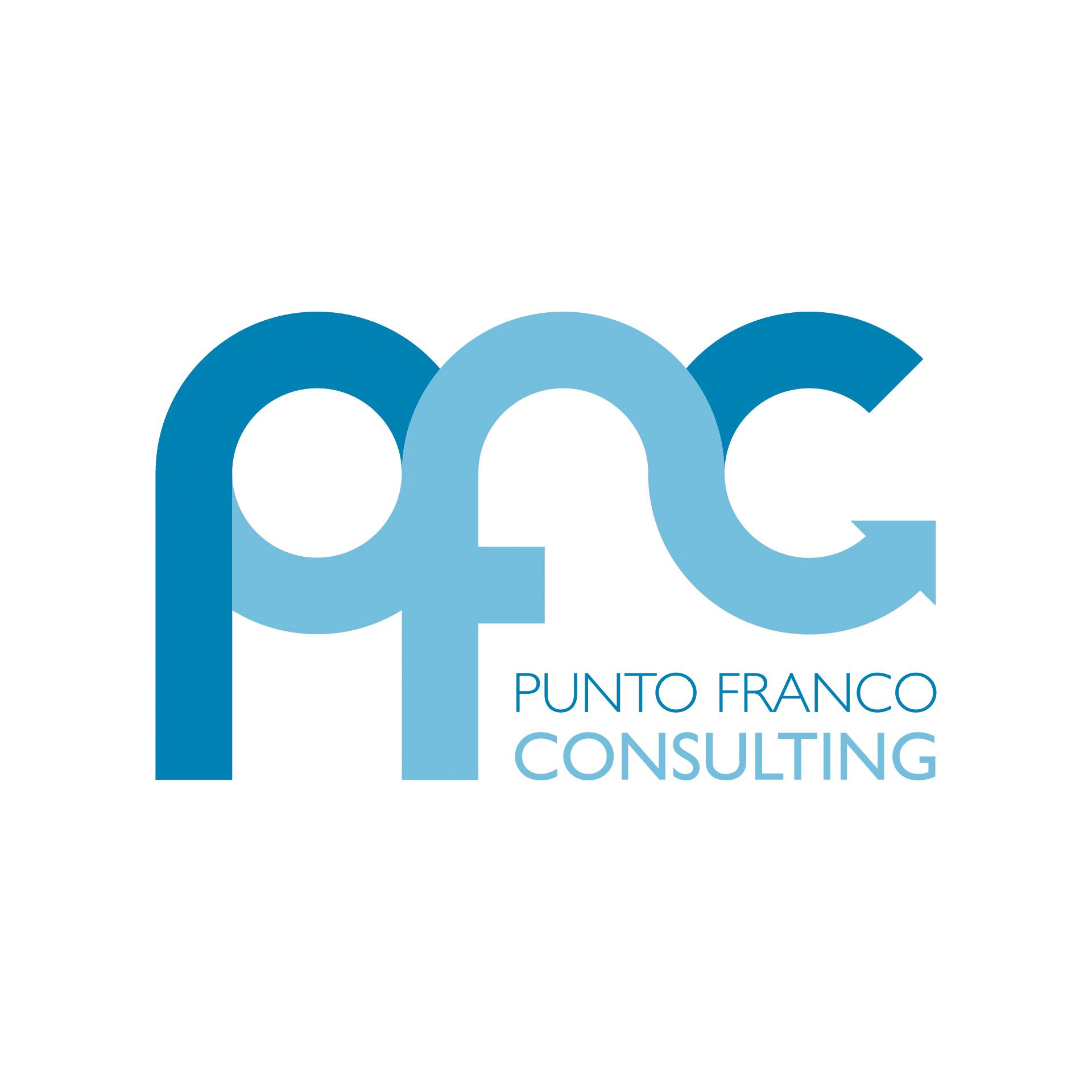 Diseño de Identidad Visual y Logotipo para la marca Punto Franco Consulting