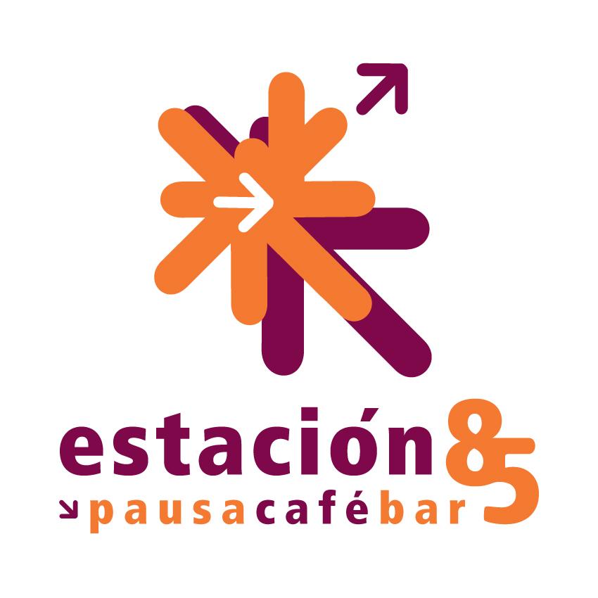 Logotipo Restaurante Café Estación 85