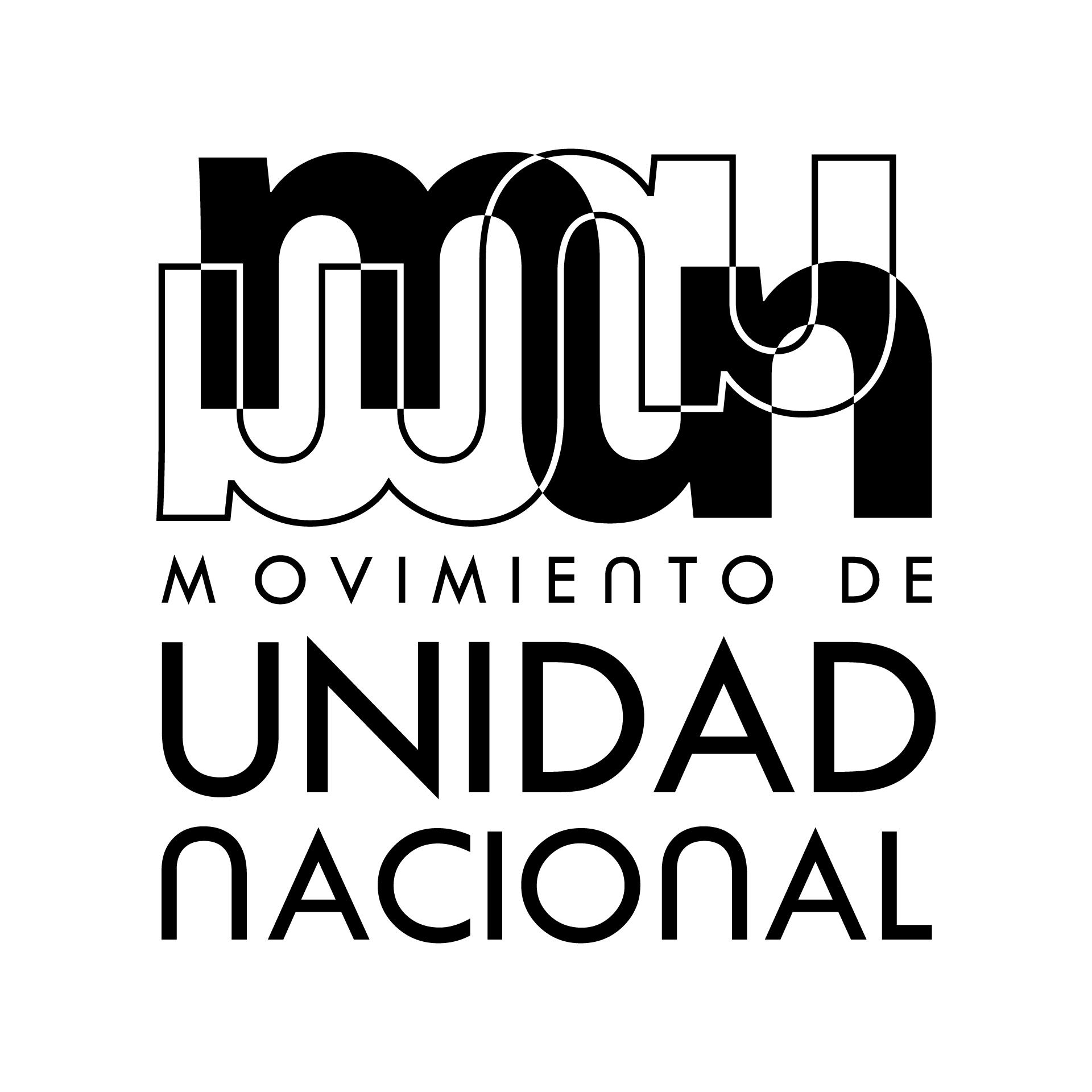 Diseño de Identidad Visual y Logotipo Movimiento de Unidad Nacional - MUN