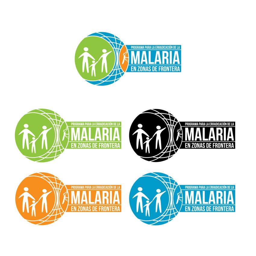 Logotipo para el Programa para la Erradicación de la Malaria en Zonas de Frontera