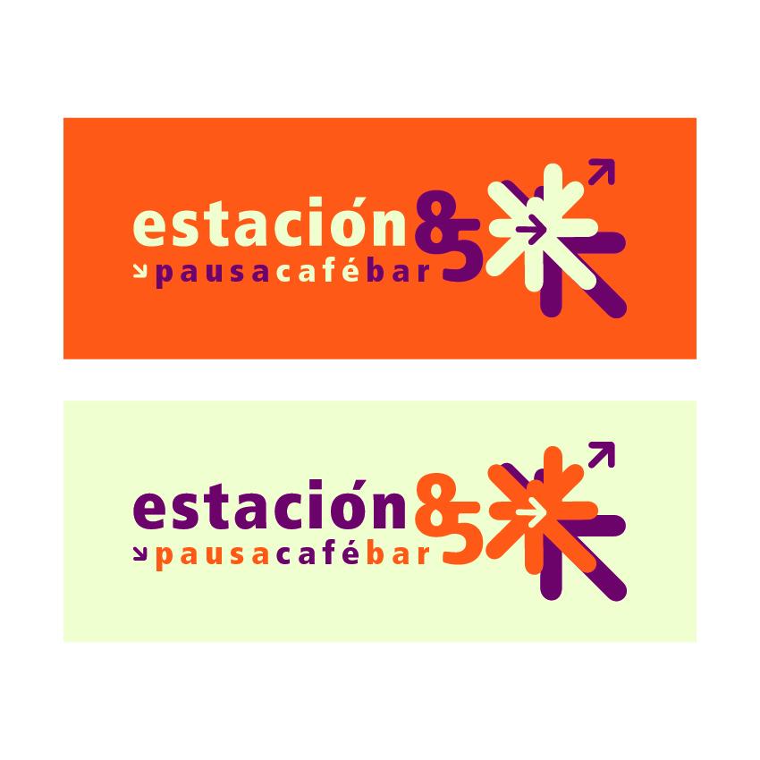 Logotipo Restaurante Cafe Estación 85