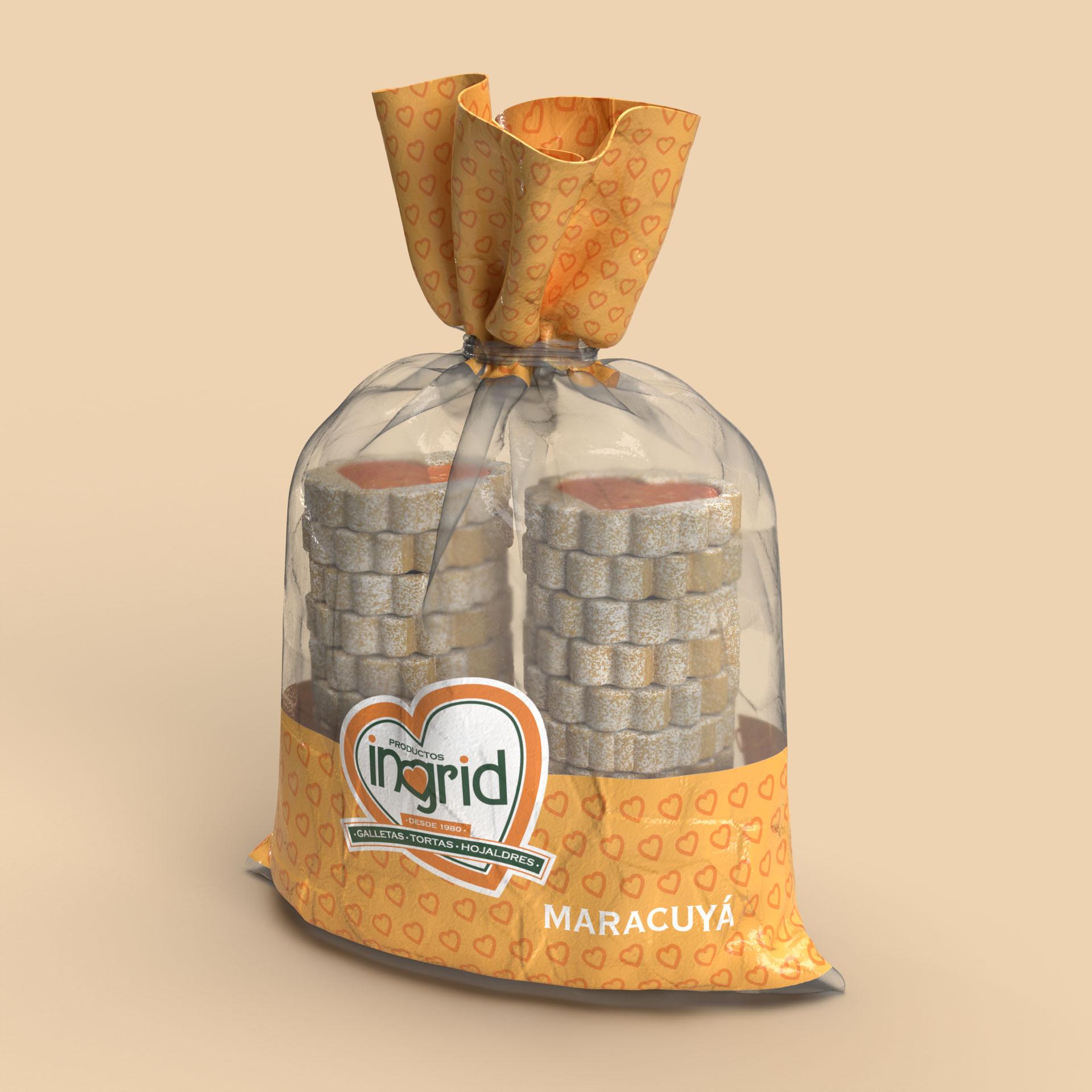 Bolsa de Galletas Productos Ingrid Opcion 1
