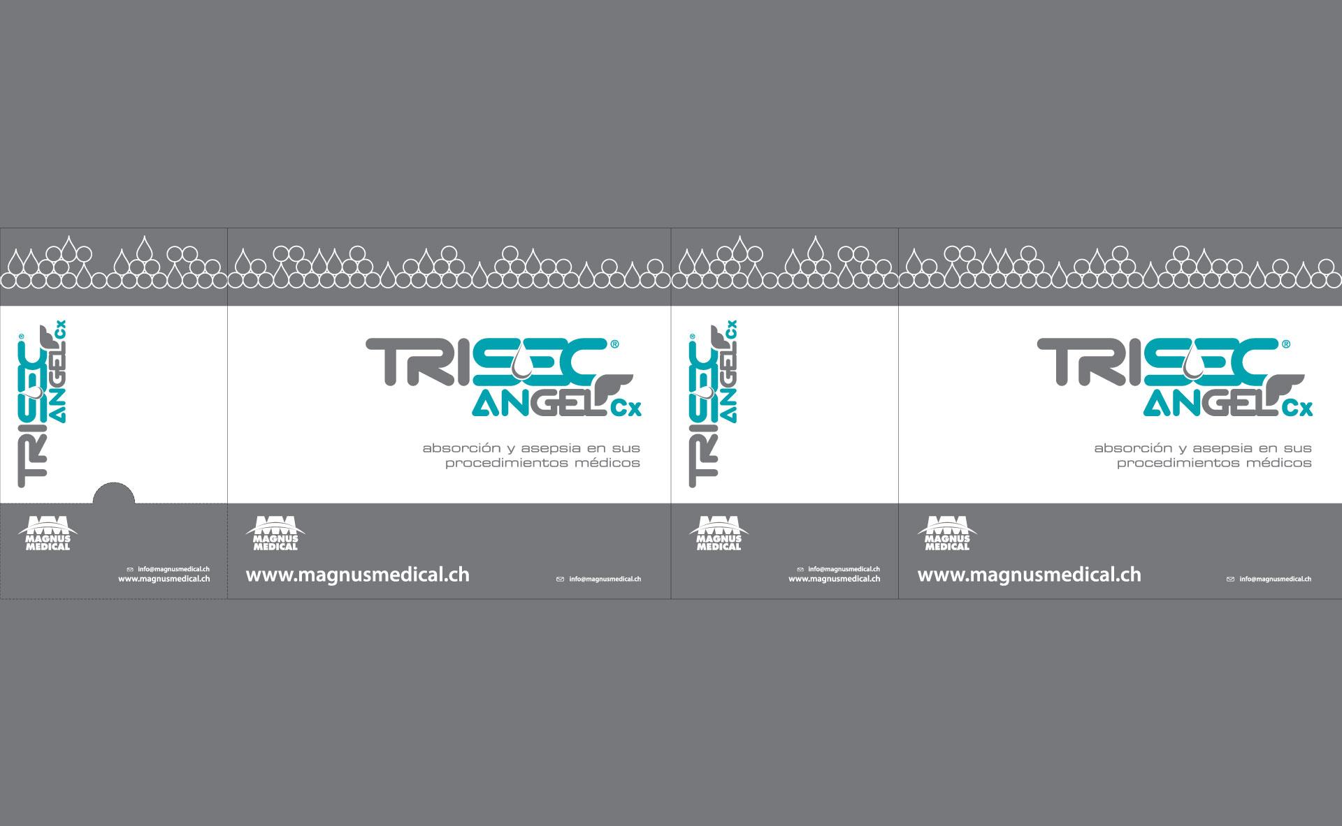 Diseño de Empaque Trisec Angel Cx