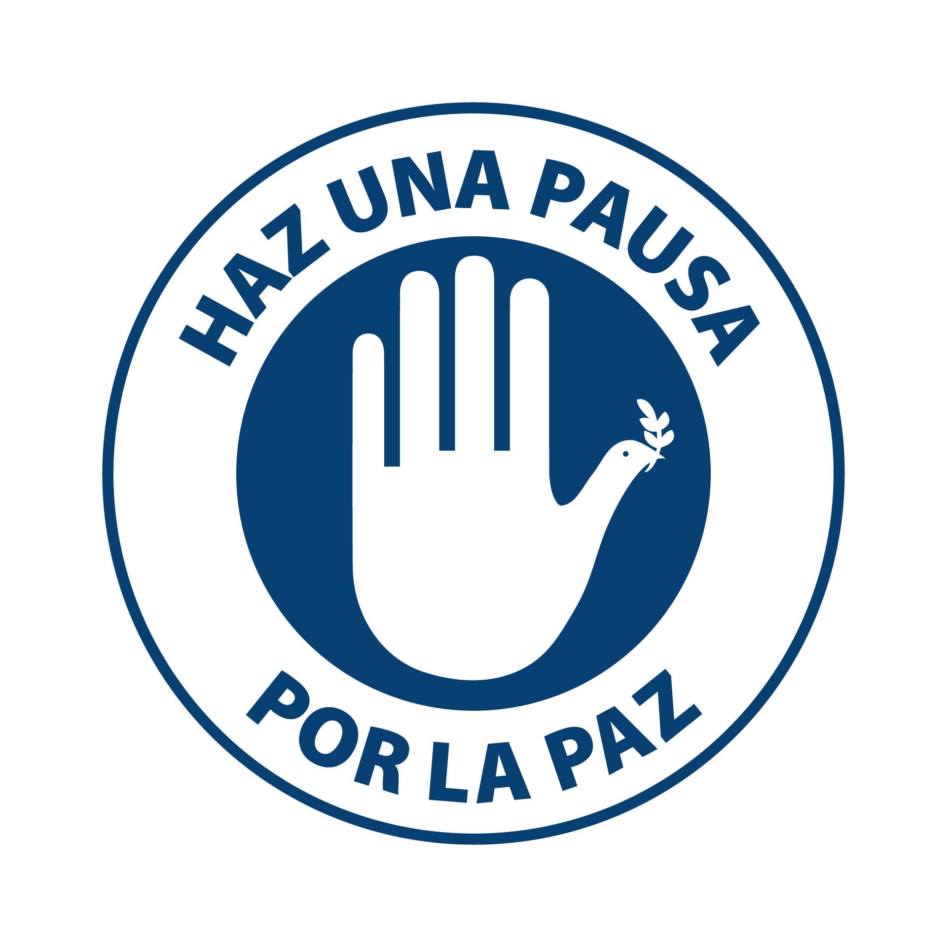 Diseño de Identidad Visual y Logotipo para el Conversatorio Haz una Pausa por la Paz