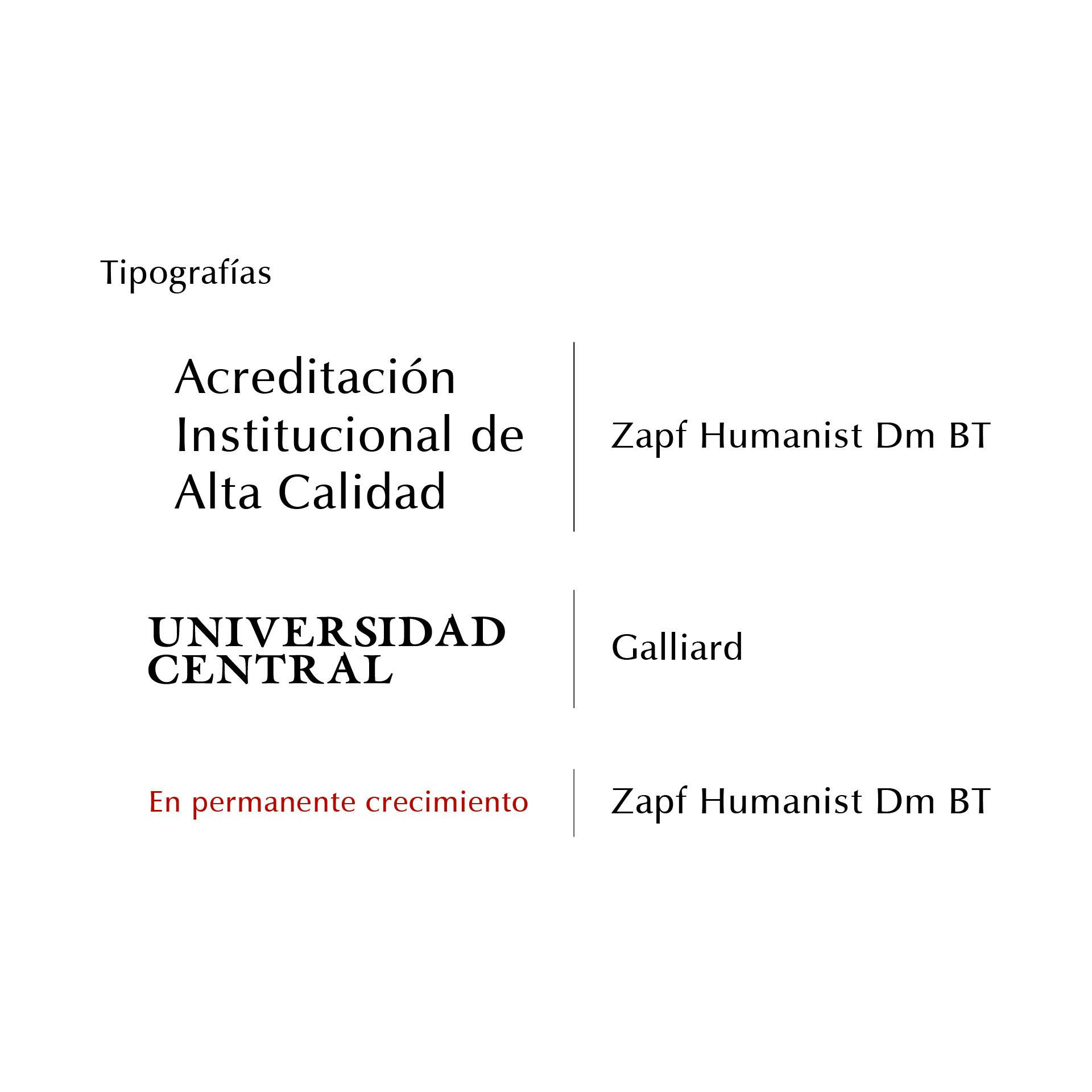 Diseño de Identidad Visual y Logotipo para la marca Acreditación Institucional de Alta Calidad - Universidad Central