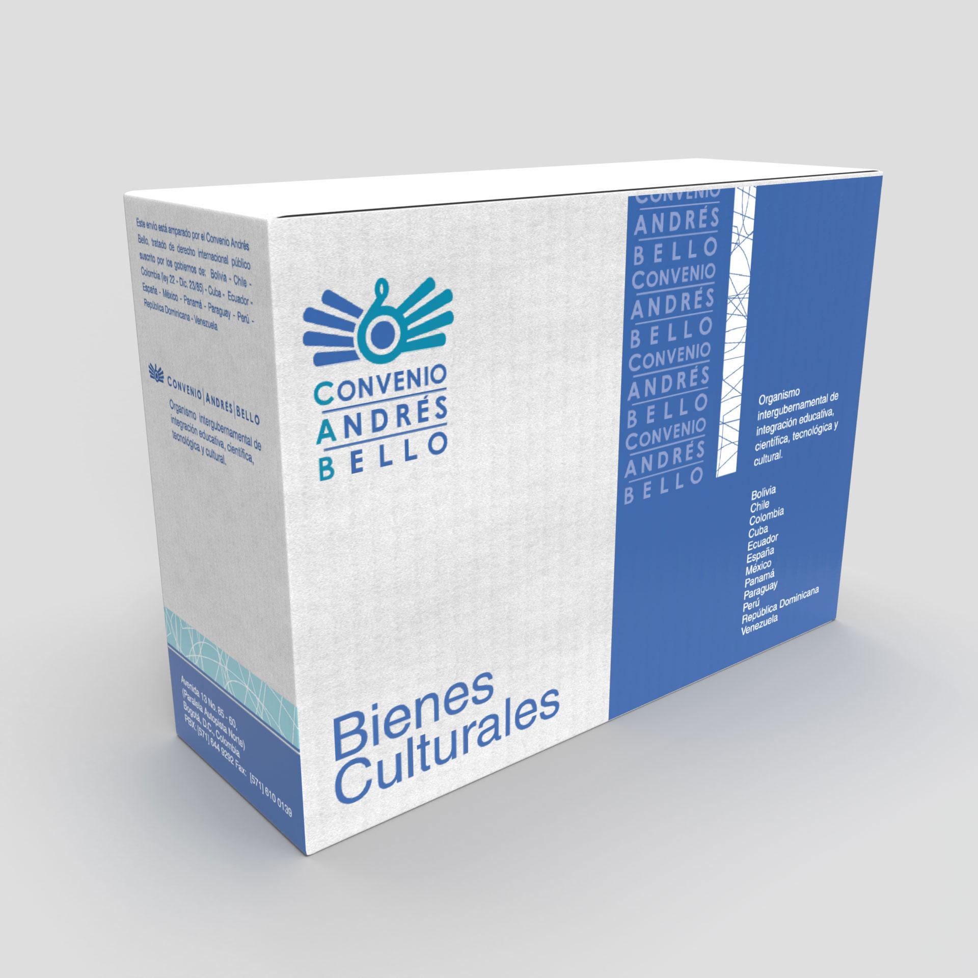 Diseño de Identidad Visual y Logotipo para la marca Convenio Andrés Bello