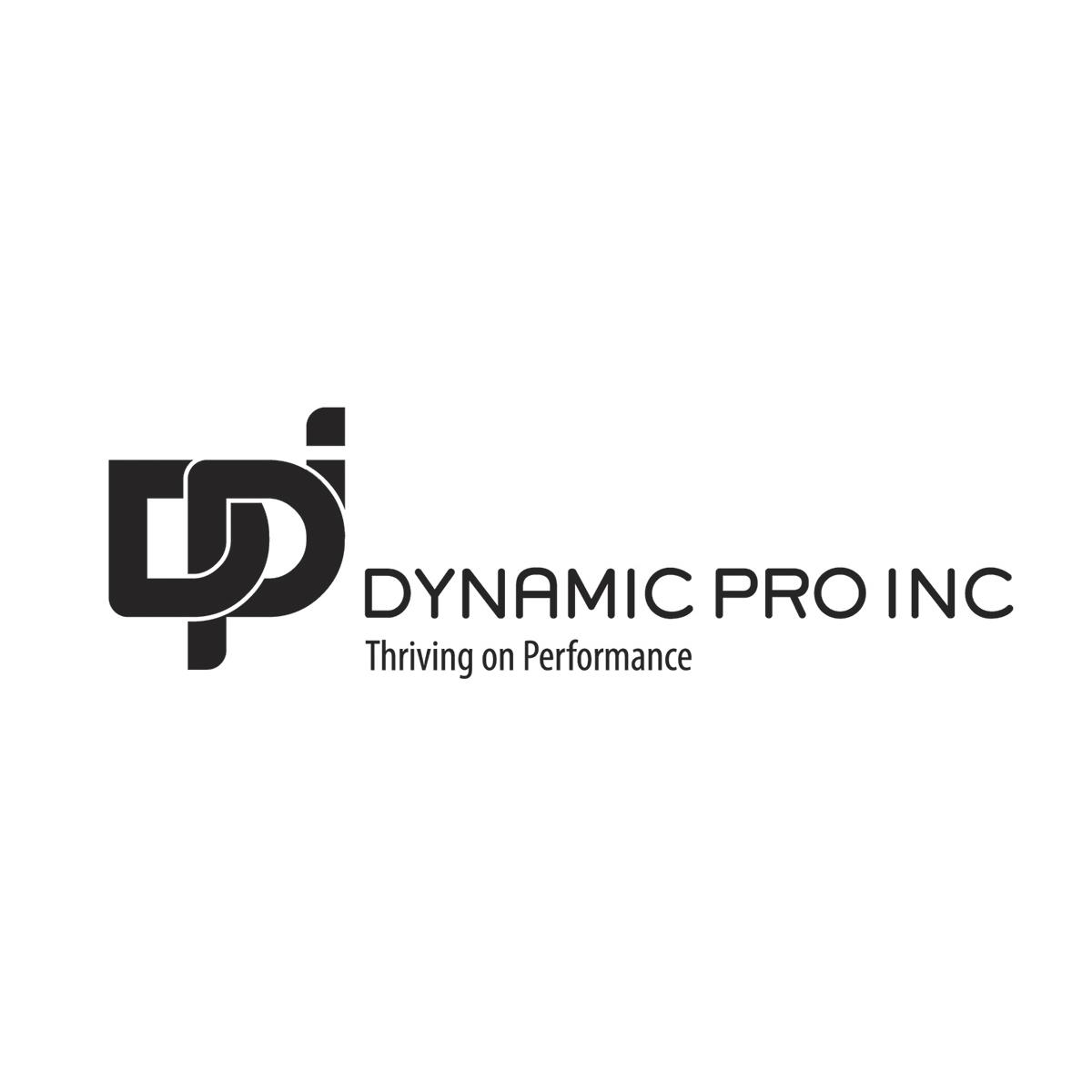 Diseño de Identidad Visual y Logotipo para la marca DYNAMIC PRO - DPI