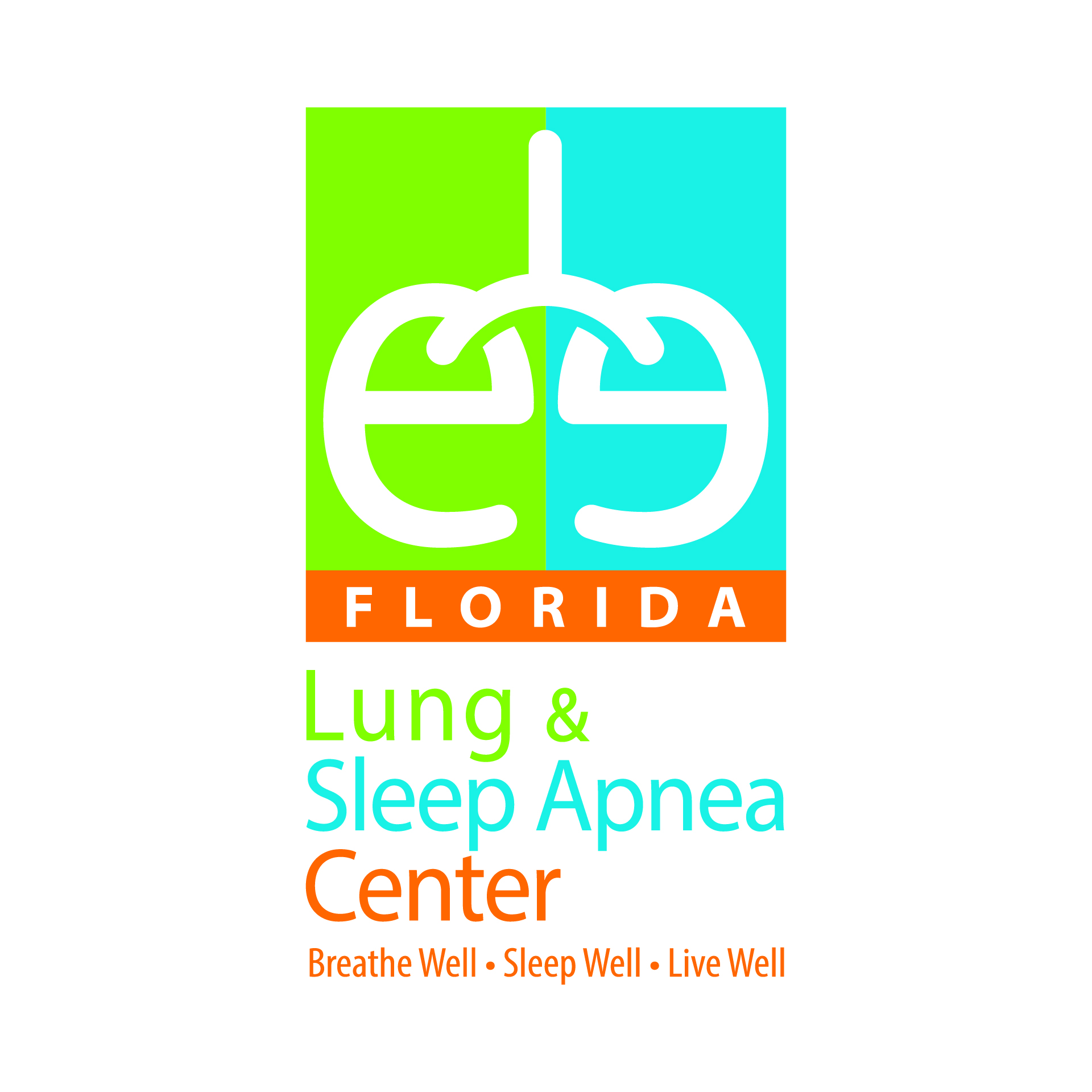 Diseño de Identidad Visual y Logotipo para la marca Lung & Sleep Apnea Center