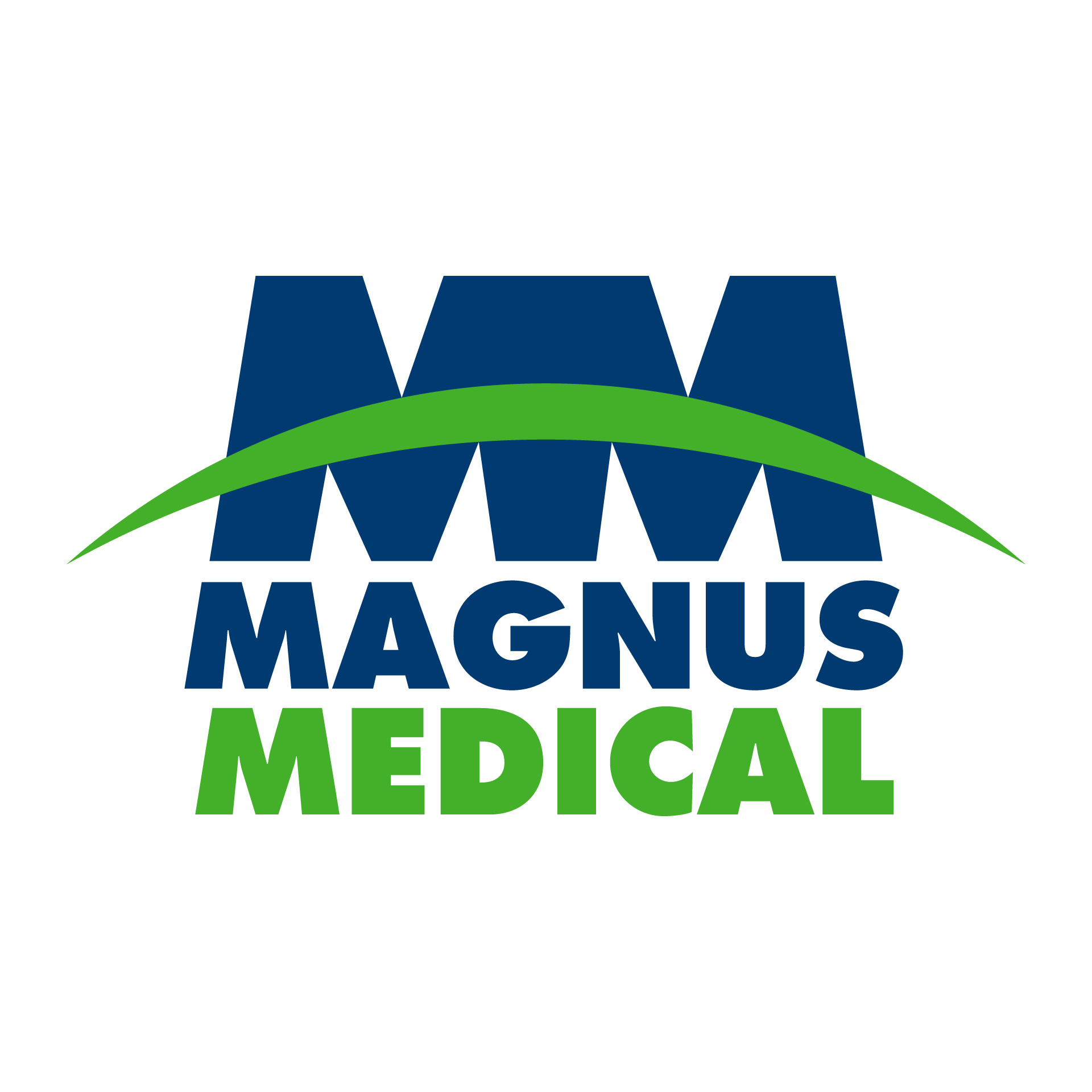 Diseño de Identidad Visual y Logotipo para la marca Magnus Medical