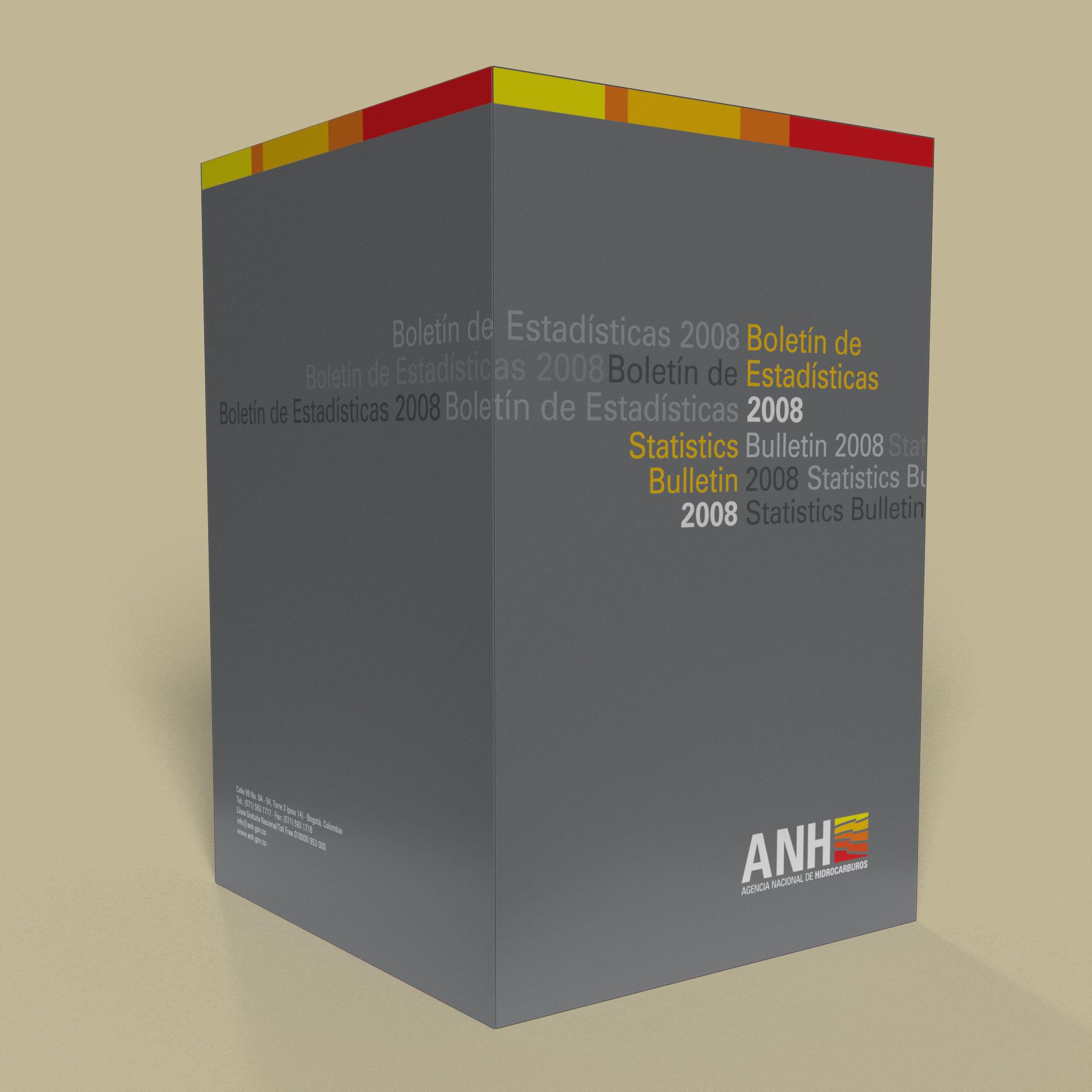 Boletín de Estadísticas Agencia Nacional Hidrocarburos ANH Colombia