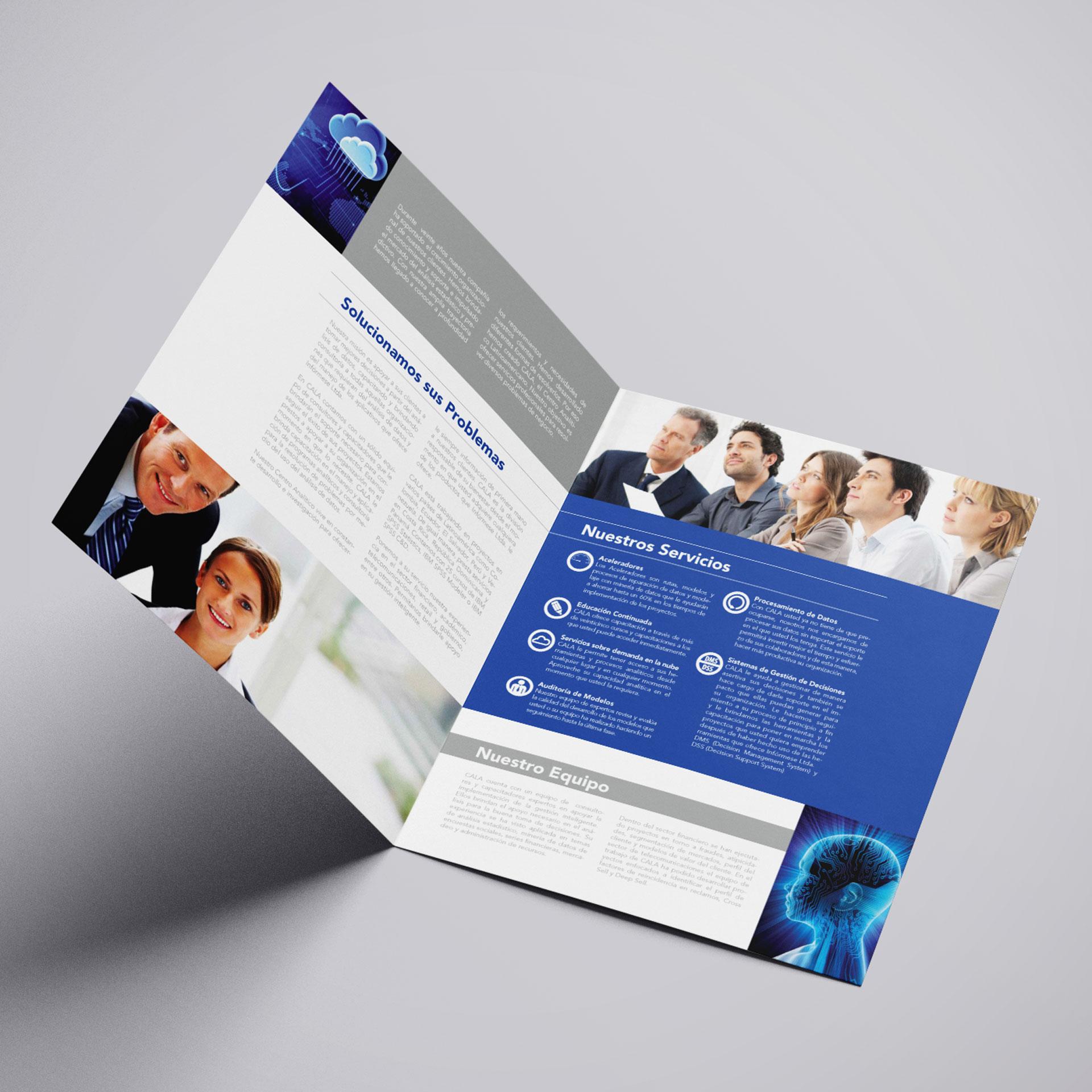 Brochure de Servicios de Analítica de Cala Analytics