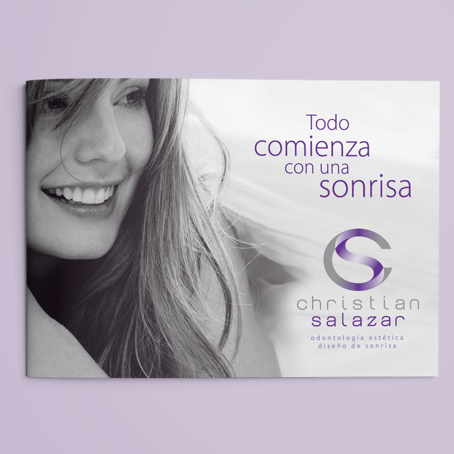 Brochure Christian Salazar Odontología Estética