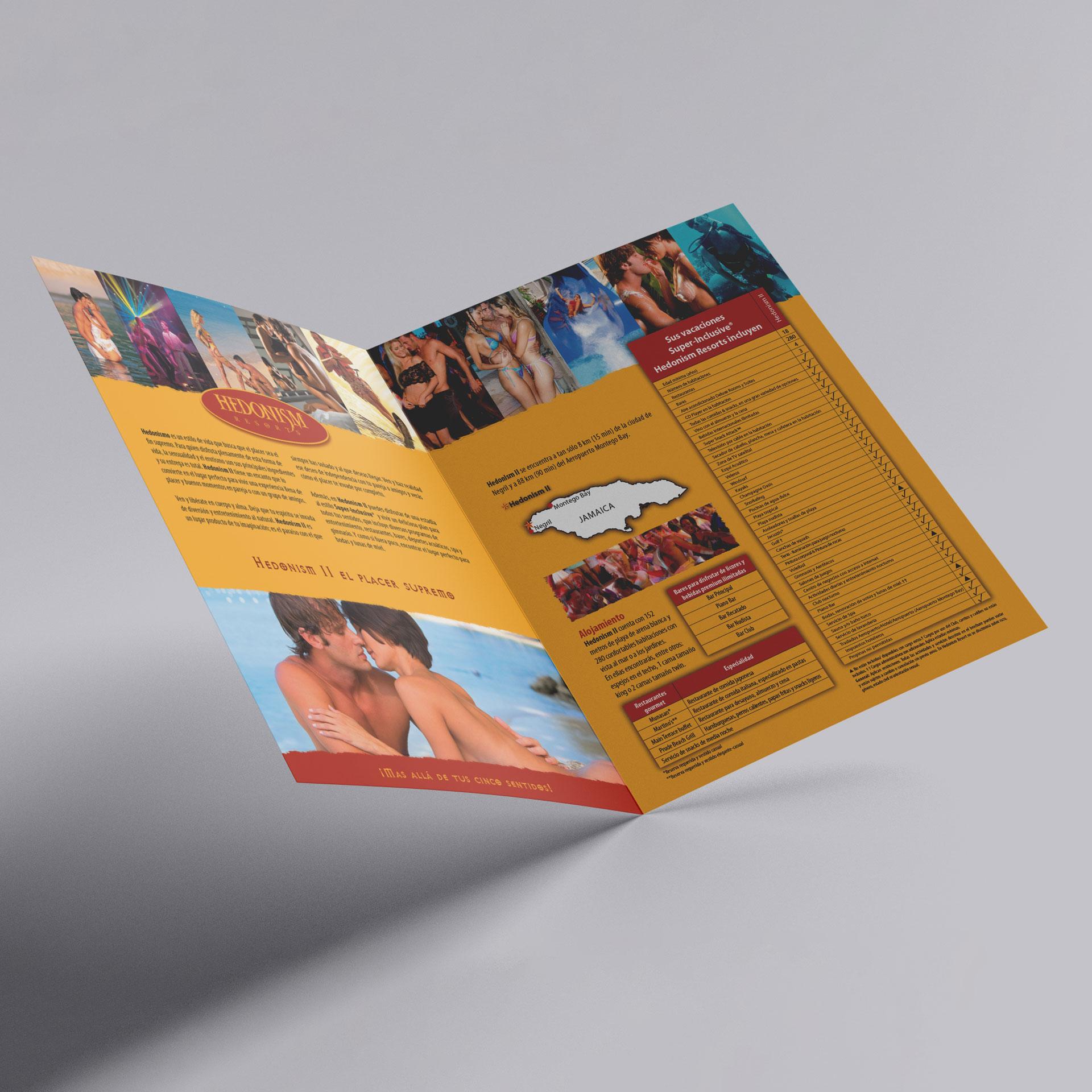 Brochure Hedonism Resorts