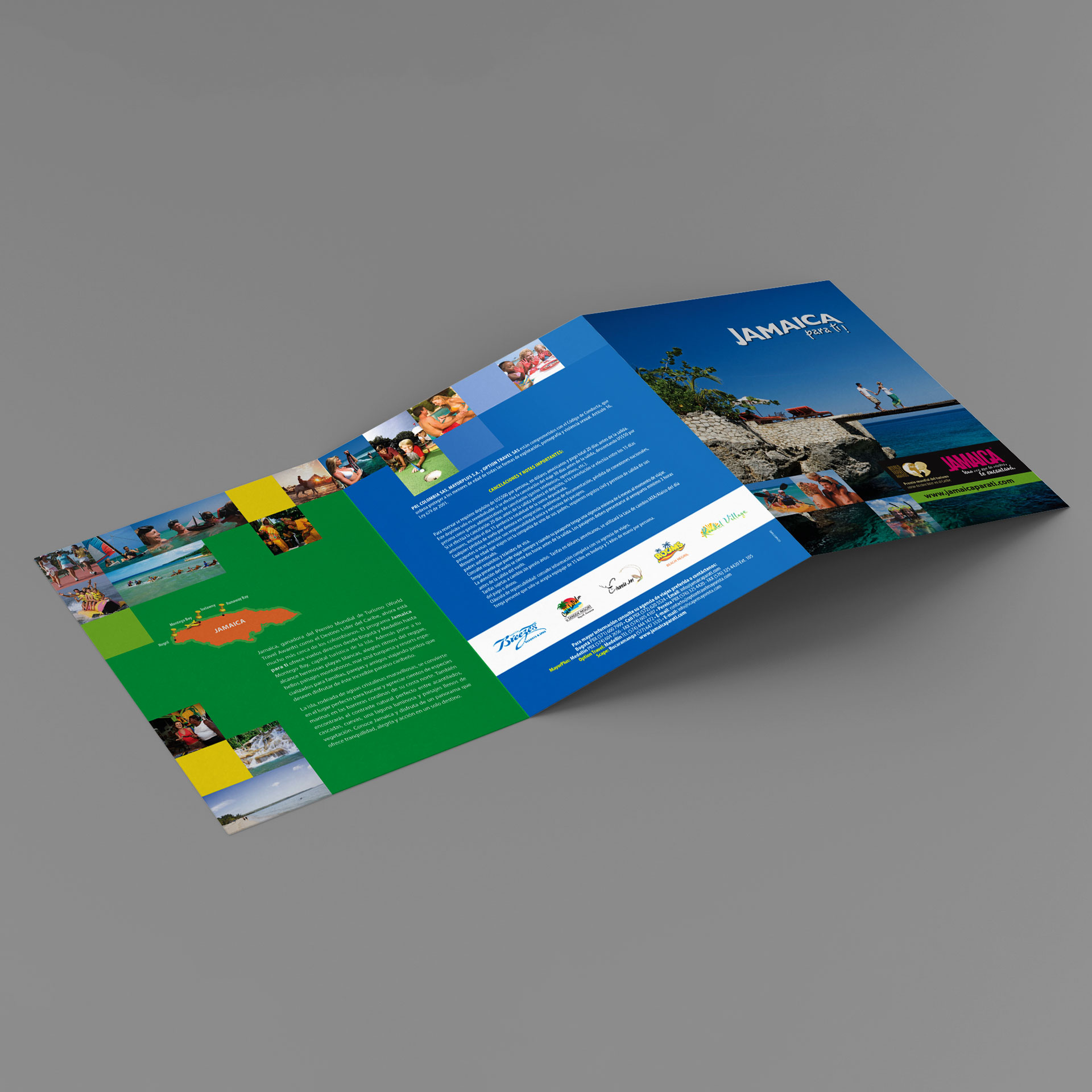 Brochure Jamaica Tourist Board