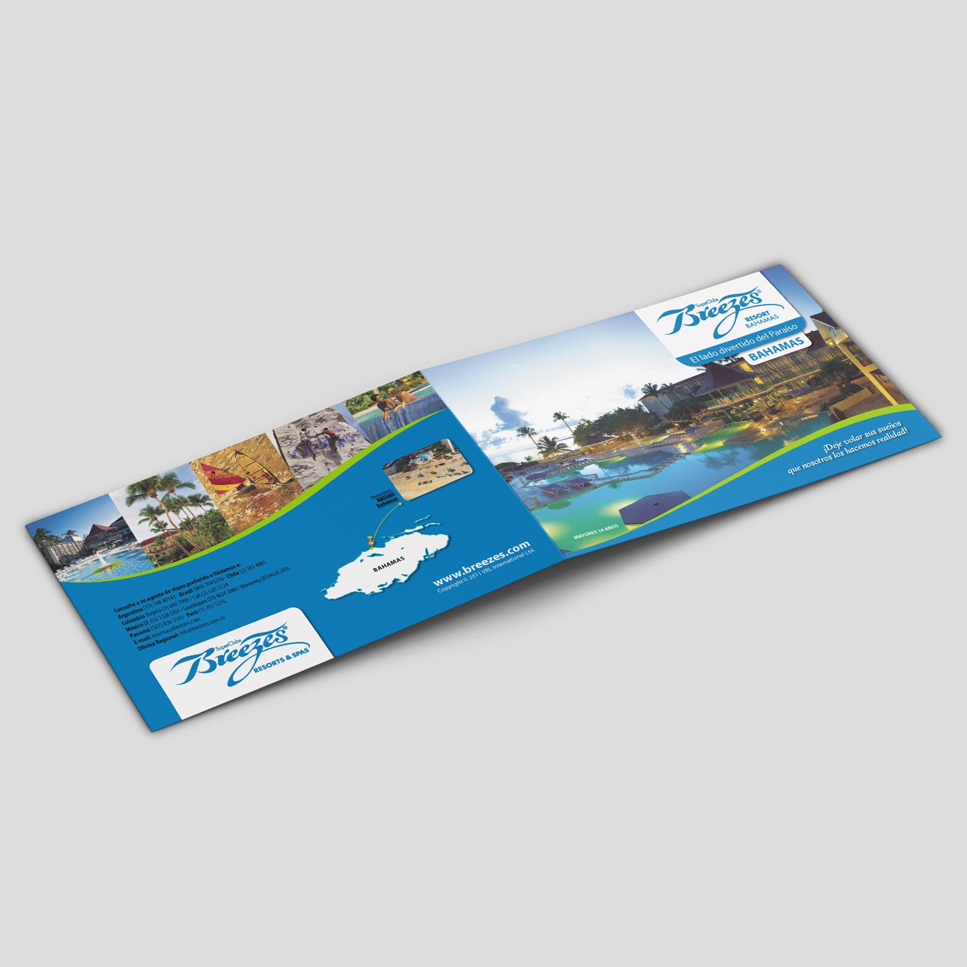 Brochure Breezes Resort Bahamas