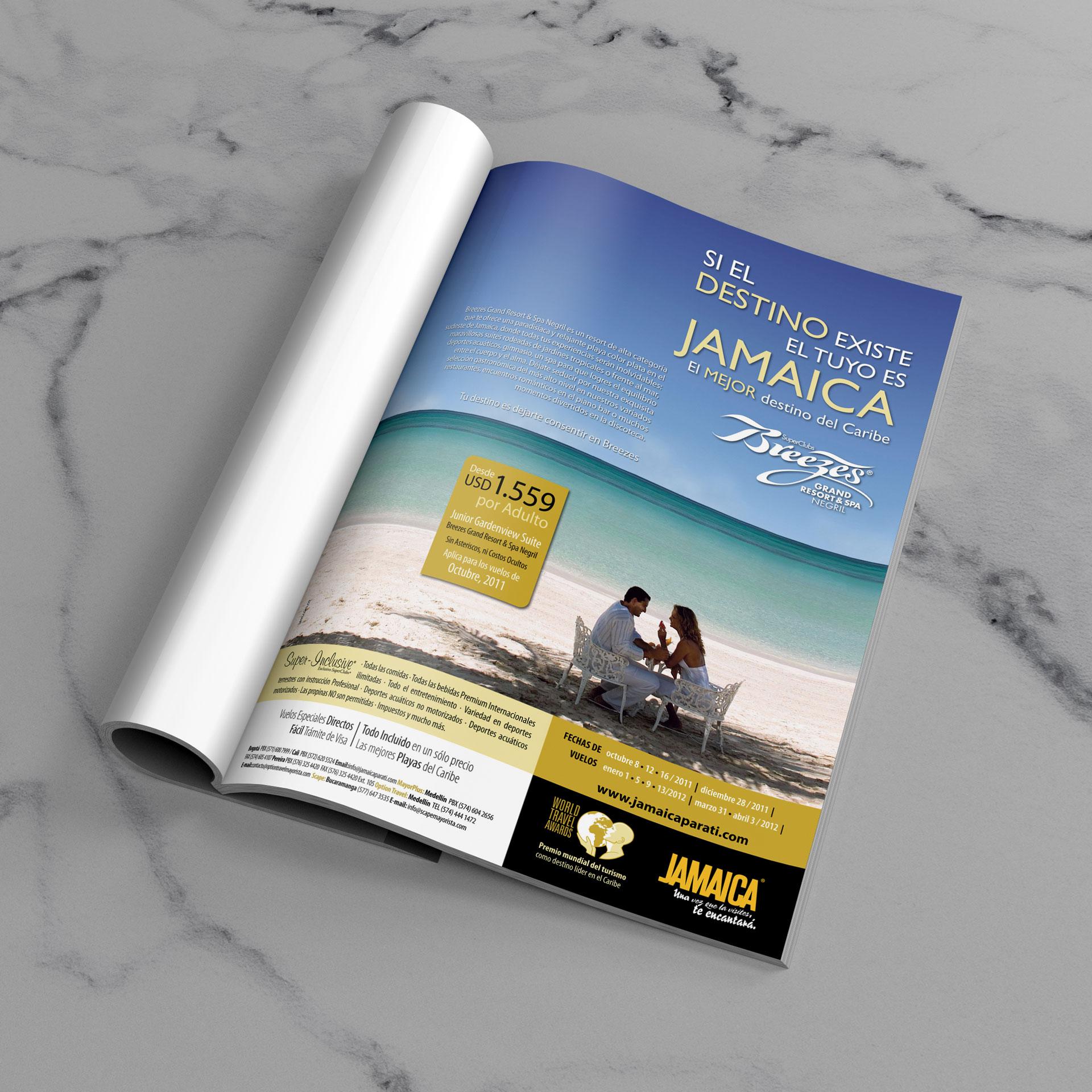 Campaña Breezes Grand Resort & Spa en Jamaica