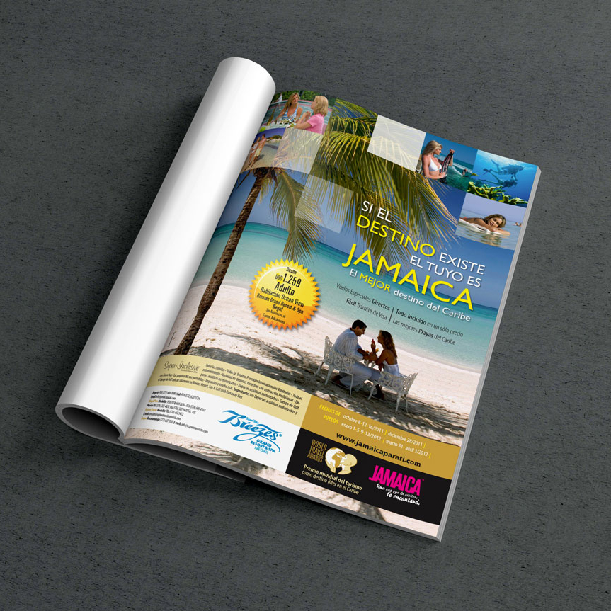 Campana Jamaica Tourist Board -JTB
