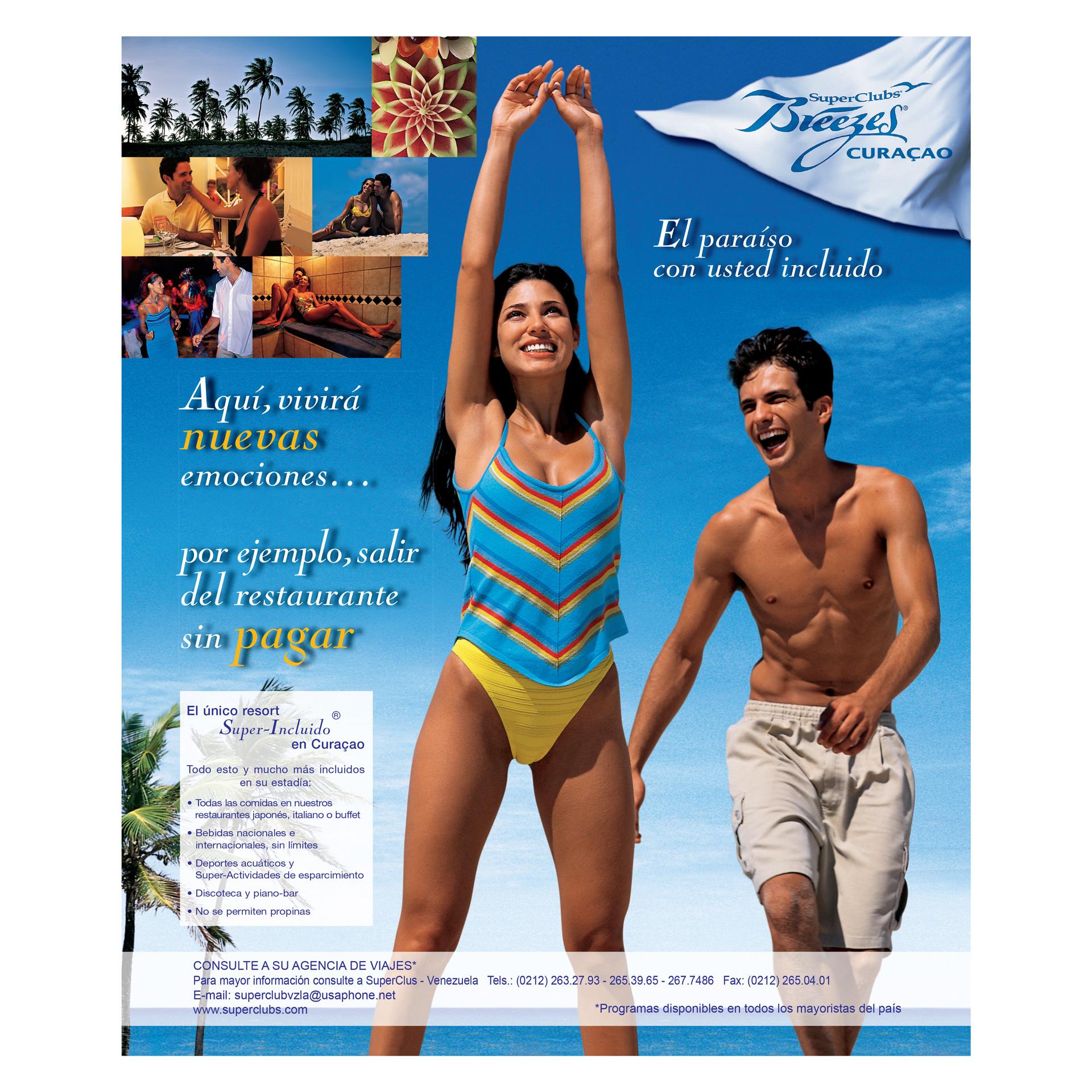 Campaña SuperClubs Breezes Curaçao