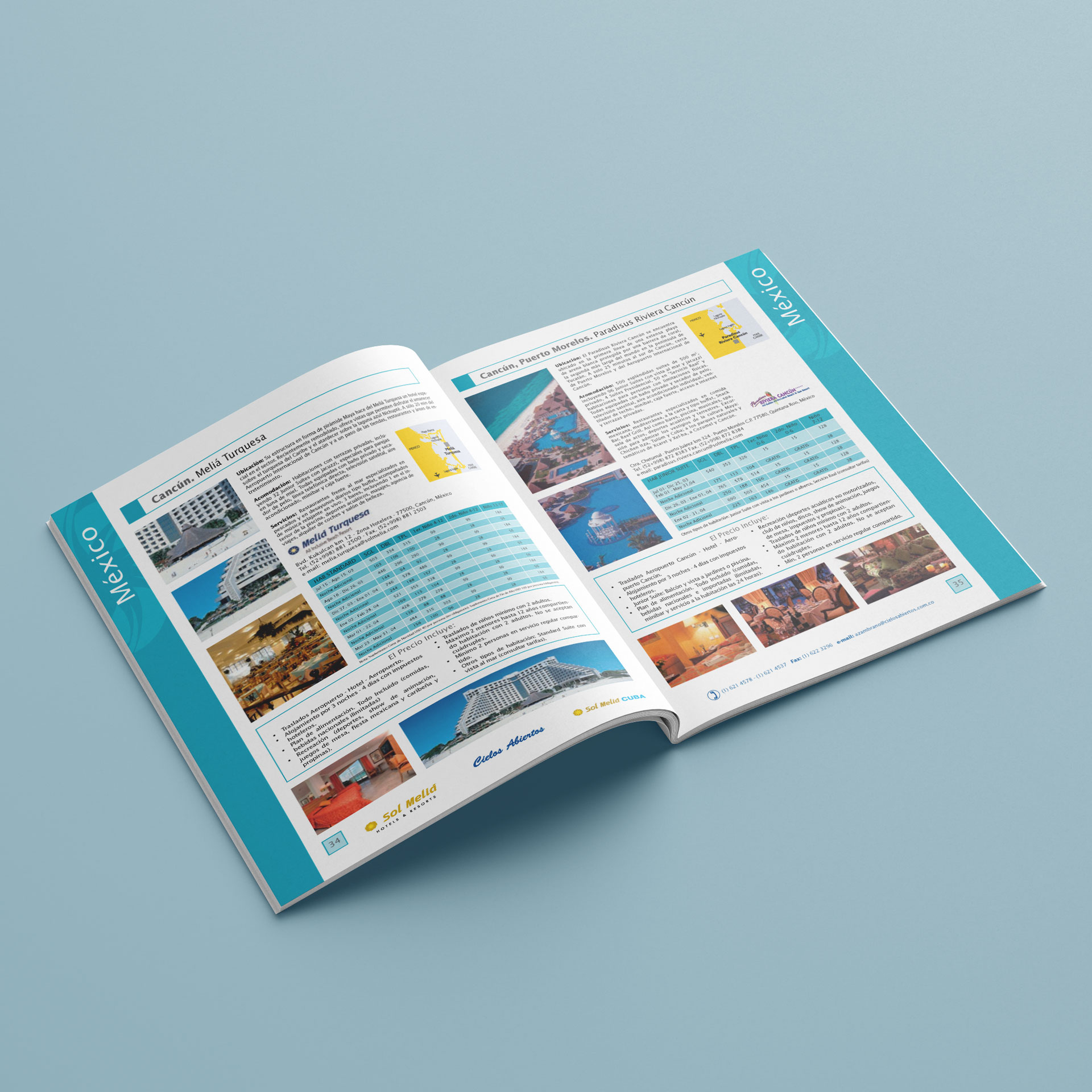 Catálogo Hoteles & Resorts Sol Meliá - Cielos Abiertos