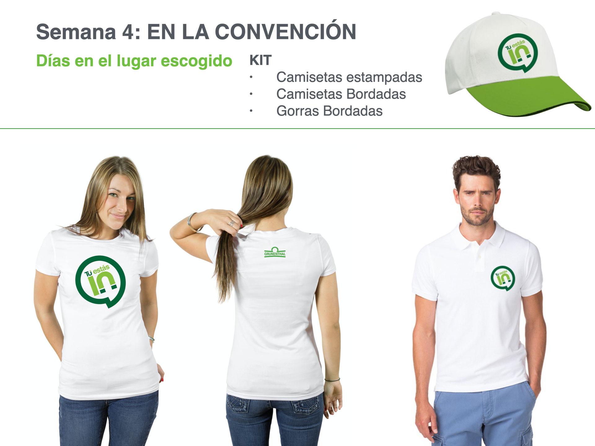 Concepto Creativo y Gráfico Campaña Convención Grünenthal