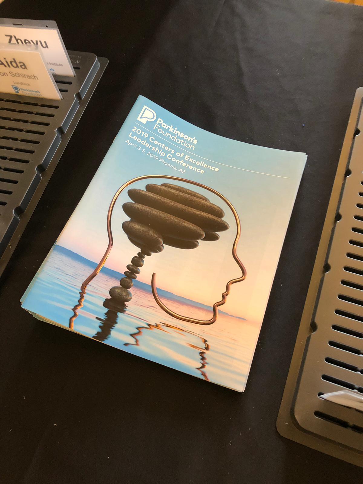 Imagen Visual para el evento CLC 2019 del Parkinson's Foundation