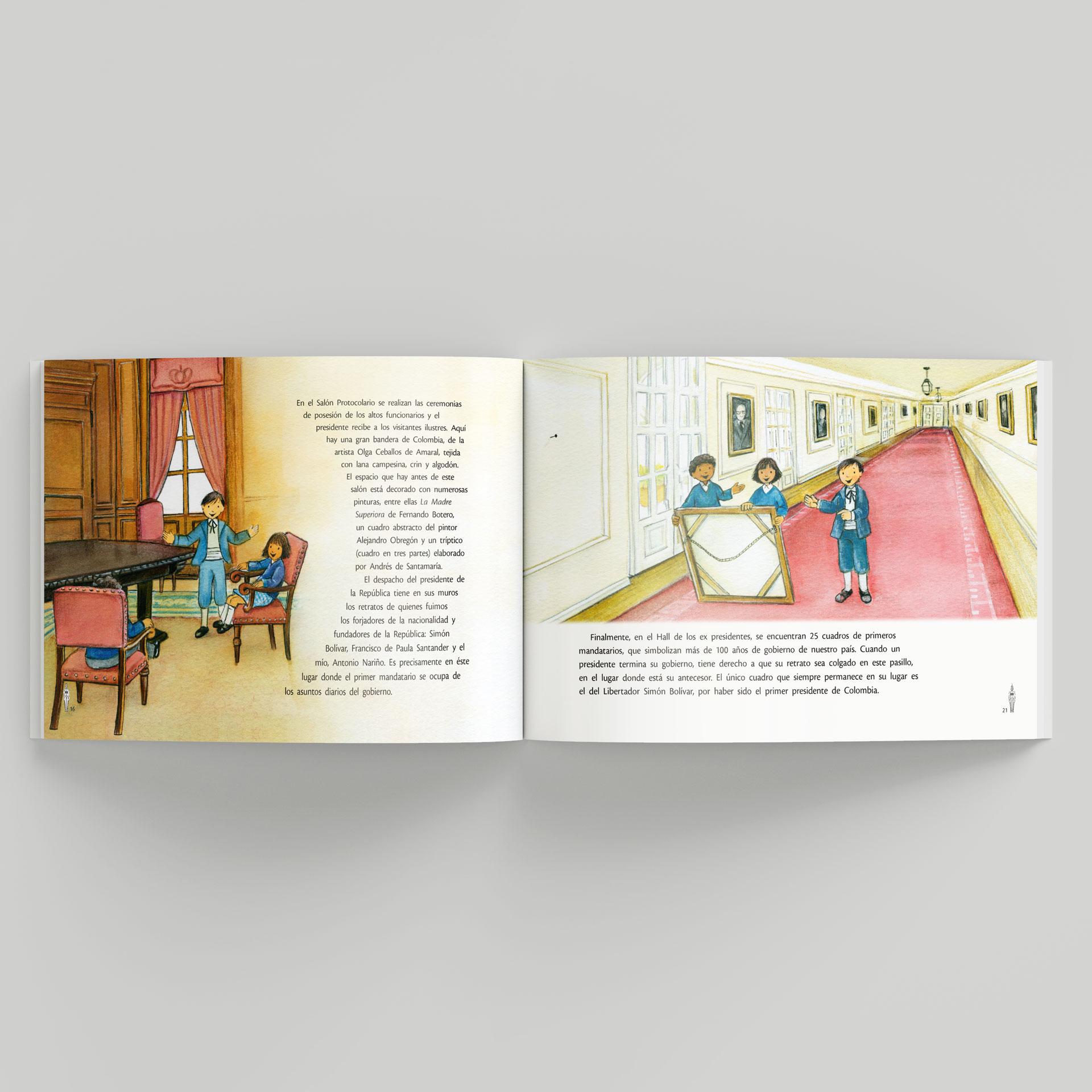 Libro Un Paseo por la Casa de Nariño - Presidencia Colombia