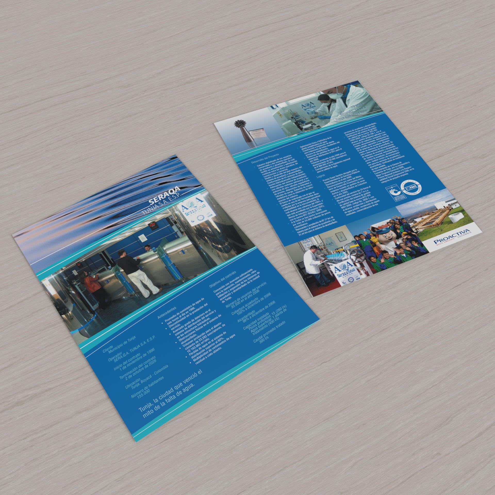 Carpeta y Portafolio Corporativo Proactiva Colombia