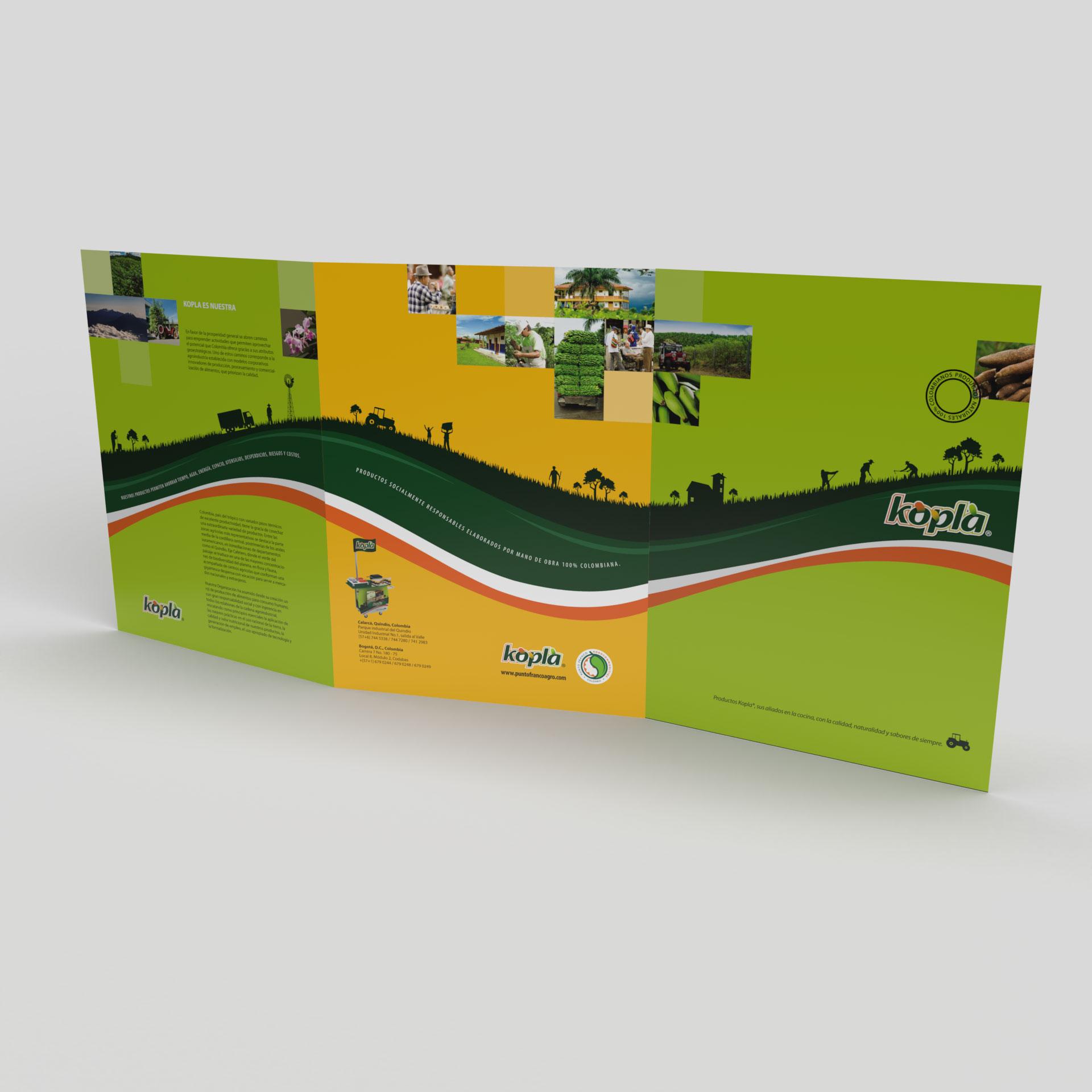 Portafolio de Productos marca Kopla