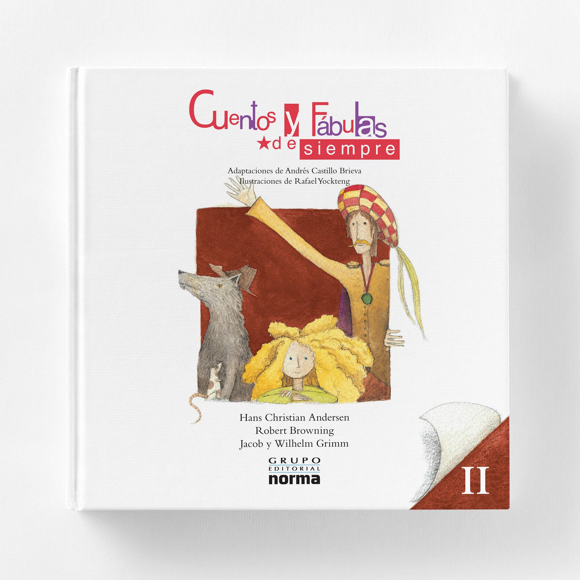 Cubierta Cuentos y Fabulas de Siempre Editorial Normal Volumen II