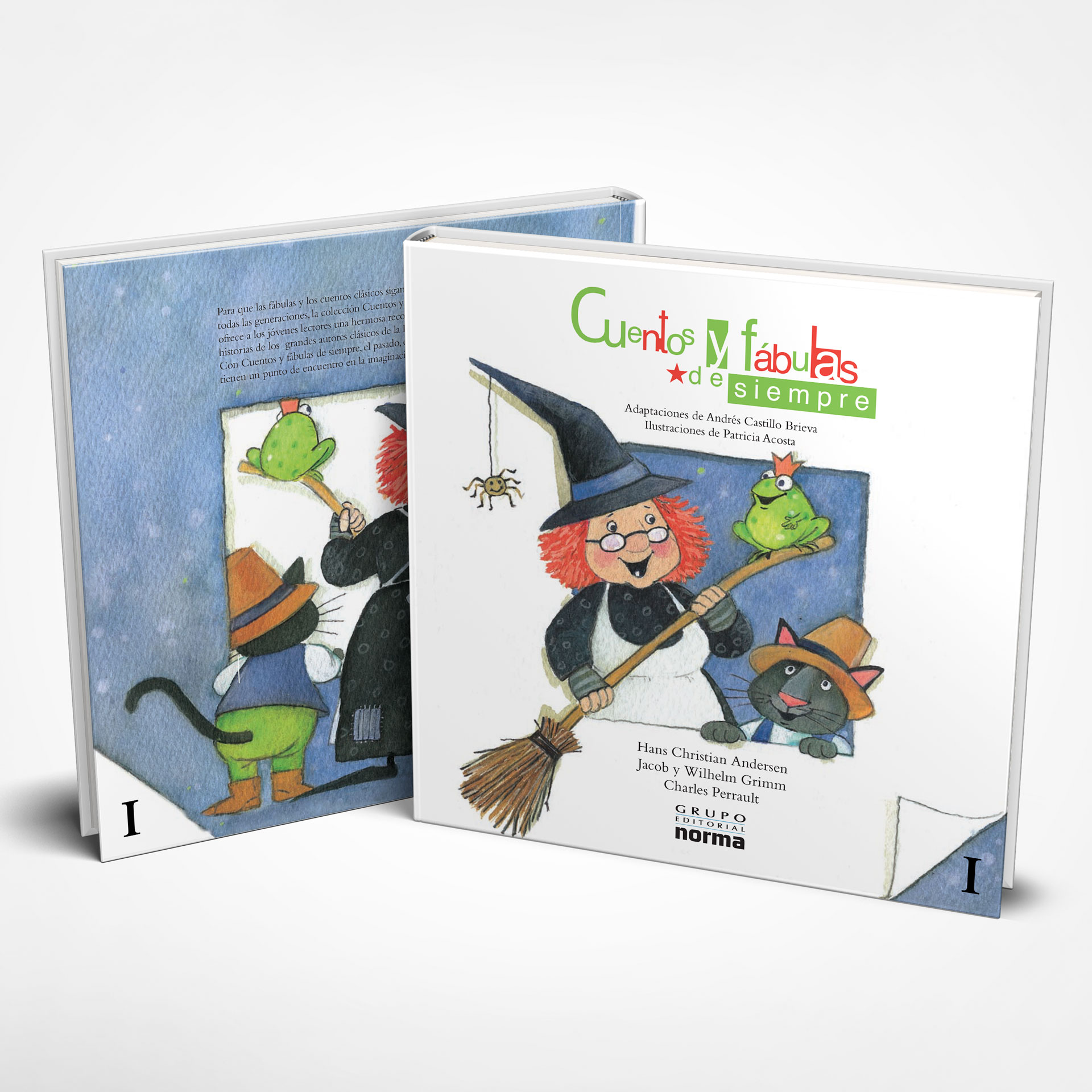 Cubierta Cuentos y Fabulas de Siempre Editorial Normal Volumen I